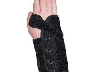 Kids Universal Quick lace Wrist Splint Support Brace   Universal Size   left