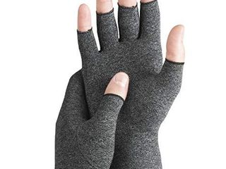 Serenily Arhtritis Gloves   Compression Gloves for Women   Men  Carpal Tunnel Gloves for Raynauds Syndrome  Rheumatoid   Osteoarthritis Pain Relief  Hand Compression Sleeve with Fingerless Design  l
