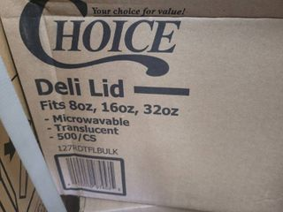 choice deli lids