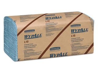 WypAll KCC 05120 l10 Windshield Wipers  Banded  2 Ply  9 3 10 X 10 1 2  140 pack  16 Packs carton