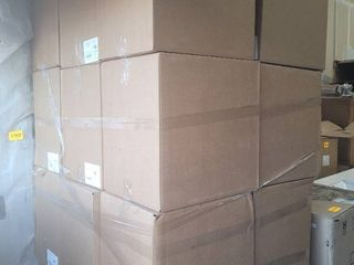 pallet of male urinals with lids