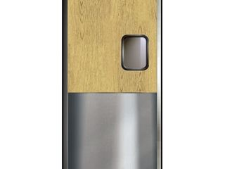 Curtron SPD 30 l 3684 Service Pro Series 30 laminate Finish Swinging Doors