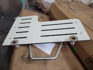 Bradley 9569 Reversible White Shower Seat