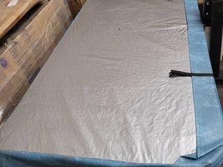 blue spa cover