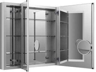 KOHlER K 99011 NA Verdera 40 Inch By 30 Inch Slow Close Medicine Cabinet With Magnifying Mirror