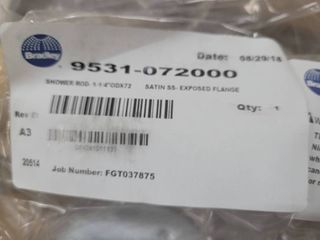 Shower Rods 9531 072000