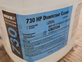 Waxie 730 disinfectant cleaner