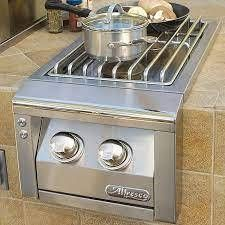 Retails   1282 Alfresco Built In Propane Gas Double Side Burner   AXESB 2 lP