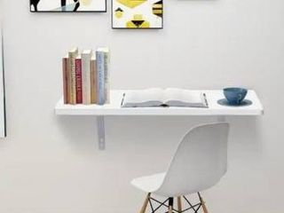 23 6 Folding Wall mounted Computer Desk White