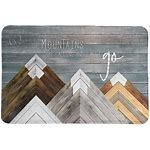 Mountains Are Calling Memory Foam Rug