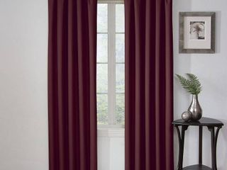 Set of 2 Eclipse Corinne Thermaback Curtain Panel