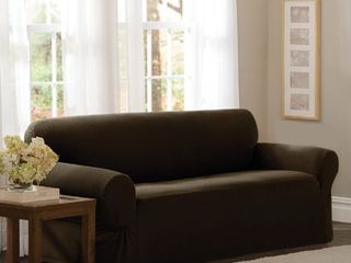Maytex Stretch Pixel 1 Piece Sofa Furniture   Slipcover  Retail 103 33