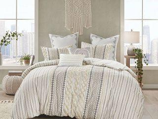 Ink Ivy Imani 3 Pc  Full Queen Cotton Duvet Cover Mini Set Bedding