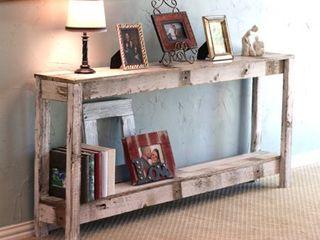 Farmhouse Sofa Table  Retail 252 61