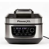 PowerXl 1550W 6 qt 12 in 1 Grill Air Fryer Combo with Glass lid  Retail 87 99