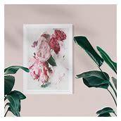 Wynwood Studio  Peony Vase  Floral and Botanical Pink Wall Art Framed Print