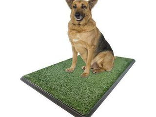 X large Dog Potty Grass Pet Potty Patch Dog Training Bathroom Pad   Indoor Outdoor Use 30 X20 X2