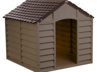 Starplast large Dog House  Mocha Brown  Retail 79 98
