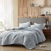 Modal Yarn Dyed   Passive Blue Comforter  Retail 125 99