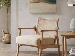 Carson Carrington Saue light Brown Accent Chair  Retail 264 99
