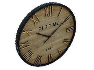 The Gray Barn Jartop Wood Metal 36 inch Wall Clock  Retail 202 49