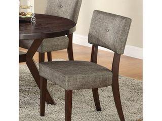 Drake Espresso Finish Dining Chair  Set of 2  Retail 169 99