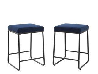 Beckett 2Pc Counter Stool Set   16  W x 18 5  D x 24  H  Retail 129 99