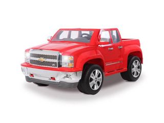 Rollplay plus Chevy Silverado 12 Volt Battery Ride On Vehicle in Red  Multi Retail  325