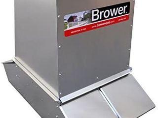 Brower Sf74 Hog Feeder  Silver Retail  966
