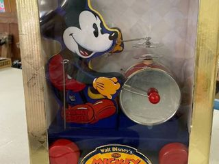 Mickey Mouse Drummer 60th Anniversary 1997
