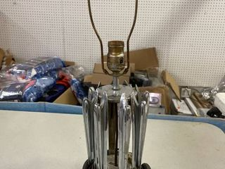 lamp Made From Car Hood Ornaments