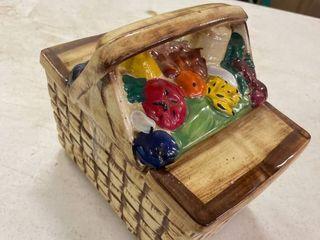 McCoy Picnic Basket Cookie Jar