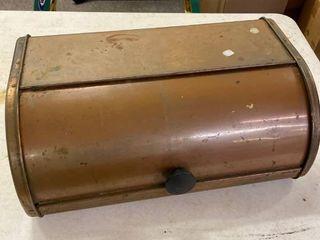Pantry Queen Bread Box  Copper