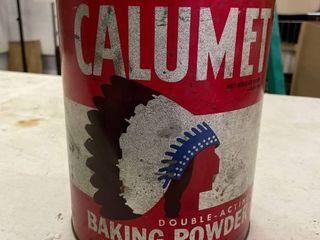 Calumet Double Acting Powder Tin 10lbs