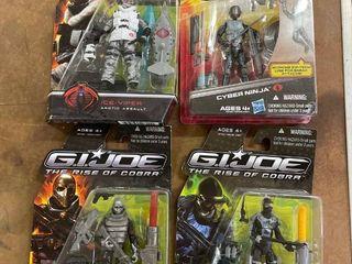 Gi Joe The Rise Of The Cobra Figures  4