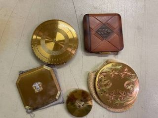 Vintage Compacts  5  some marked