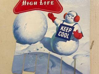 Miller High life Display