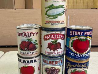 Display Vegetable Cans  7