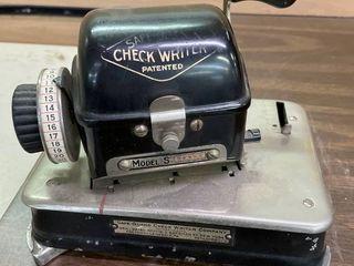 Safe Gaurd Check Writer