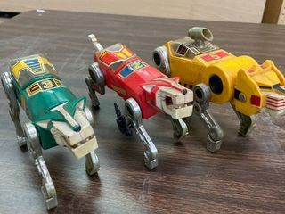 2   3   5 Voltron Beasts  No Riders