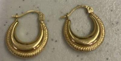 14k Gold Women Earring 1 4 Grams