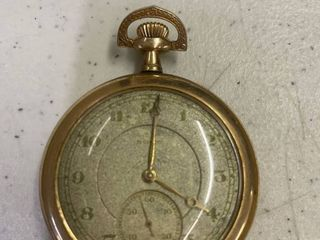 1917 Illinois Springfield Watch Co 17 Jewels Serial  3062985