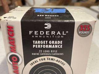 Federal Target Grade 22lr 325 Rds