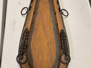 Horse Collar Frame For Mirror