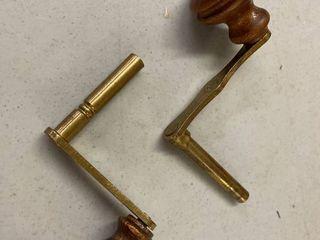 Keys Cranks For Winding Grandfather Clocks
