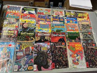 lot Of Comic Books  30