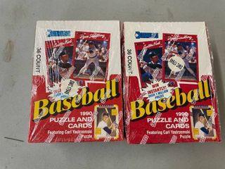 Donruss Baseball Cards Boxes  2