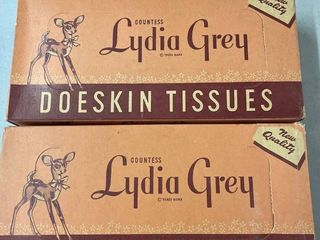 lydia Grey Doeskin Tissues  2