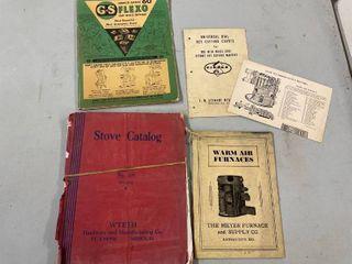 G s Flexed Cast Optic Crystals Stove Catalog 1937 38
