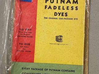 Color Chart Putnam Fadeless Dyes